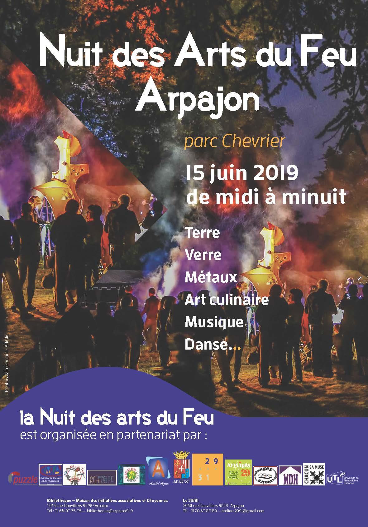Nuit des Arts du Feu - Arpajon